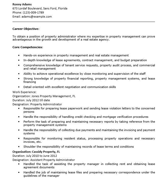 contract administrator resume resume cv cover letter