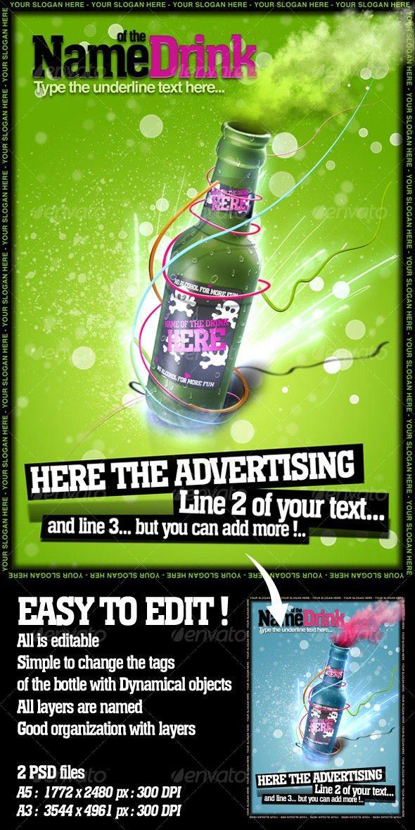 45 best Advertising images on Pinterest | Photoshop, Flyer ...