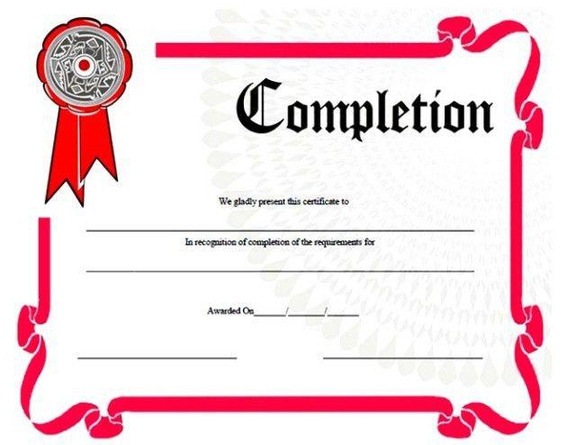 Certificate Templates: Winner Certificate Template. Free Award ...