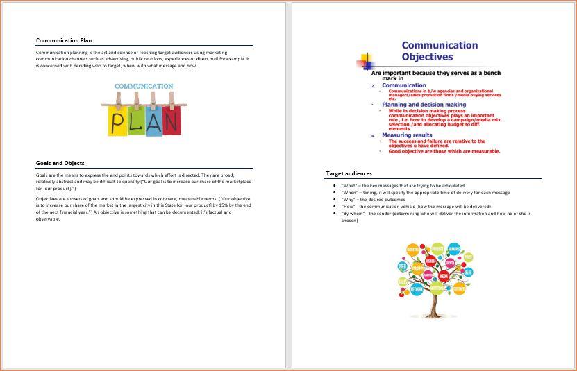 4+ microsoft business plan template | Procedure Template Sample