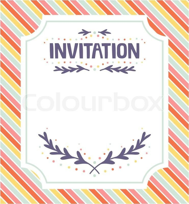 Invitation Template | wblqual.com