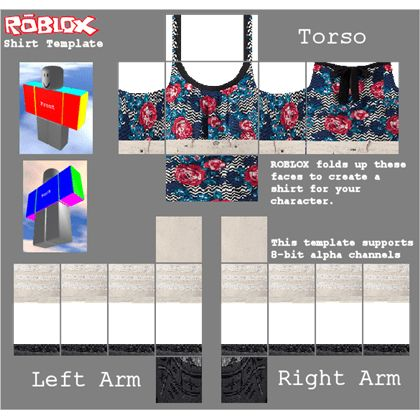ROBLOX Shirt Pants Template - ROBLOX