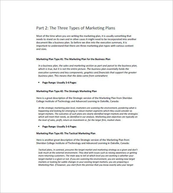 Marketing Campaign Plan Template - 12+ Free Sample, Example ...
