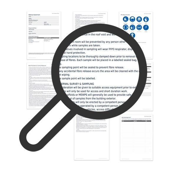 Asbestos survey method statement template | Darley PCM