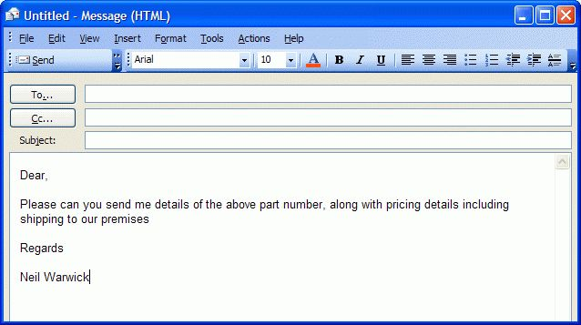 How To Create An Email Template For Microsoft Outlook