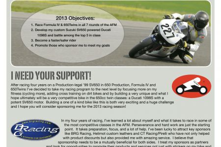 race car sponsorship proposal sample car pictures success Success ...