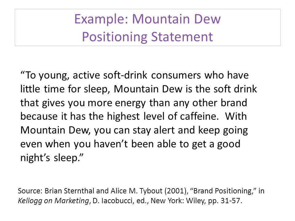 MKT 3850 Dr. Don Roy Writing a Brand Positioning Statement. - ppt ...