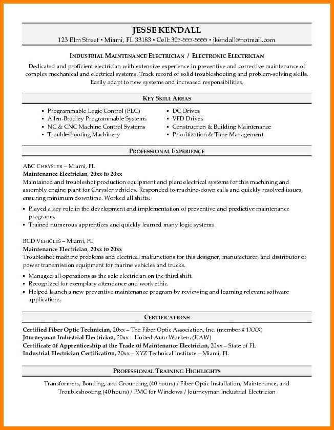 9+ electrician resumes samples | cashier resumes