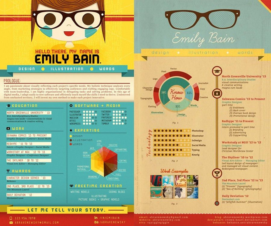 Do's and Don'ts From The 23 Most Creative Resume Designs We've ...
