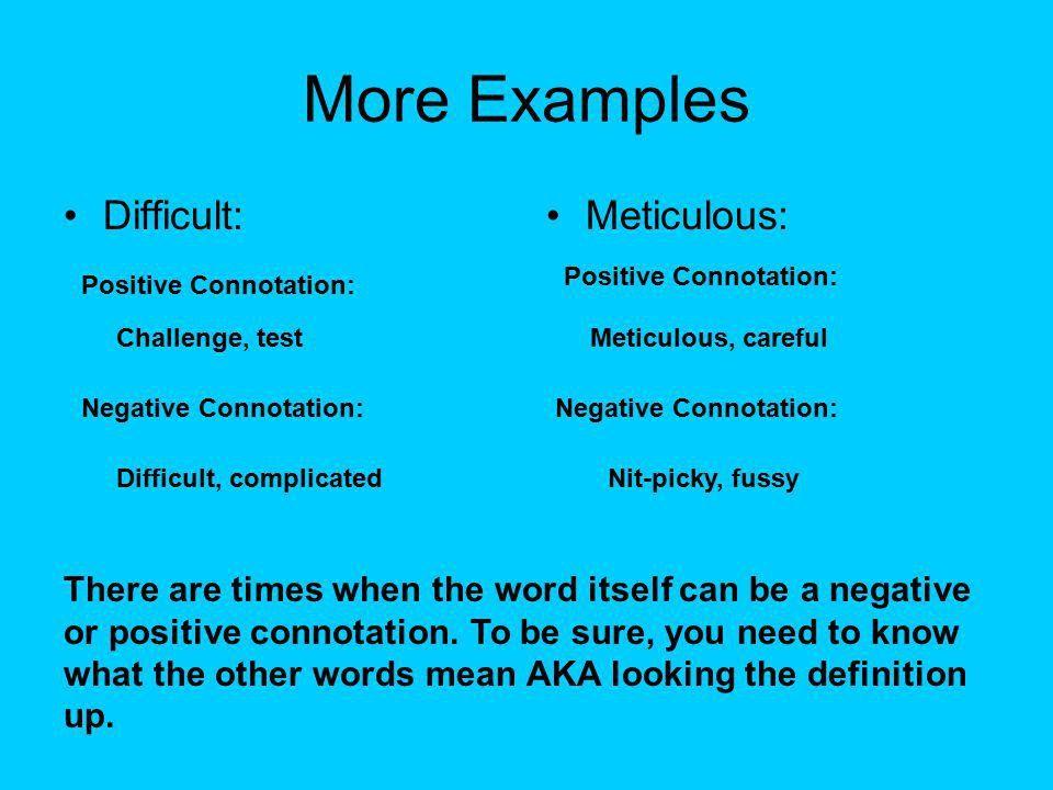 Connotation and Denotation. Definitions Denotation:Connotation ...