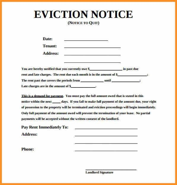4+ eviction notice alberta | cook resume