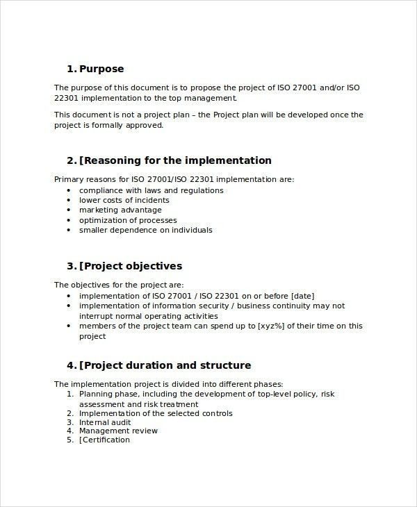 40+ Project Proposal Examples