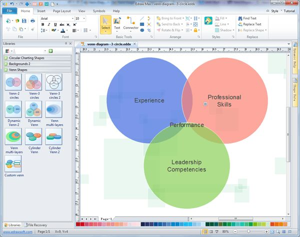 Venn Diagram - Free Venn Examples, Template, Software Download