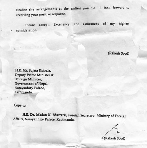 Proof: India Asked for Passport Contract from Nepal | United We Blog!