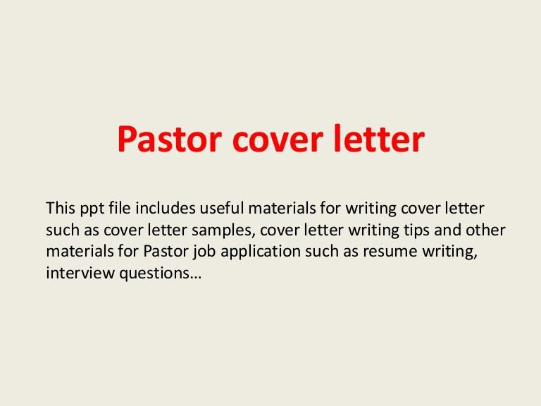 youth pastor cover letter pastor cover letter sample best letter