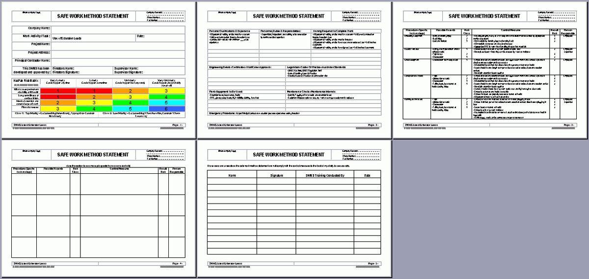 OHS Documents Australia – Plumbing