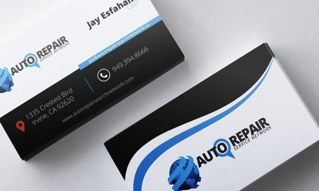 Auto Repair Business Cards - Ikwordmama.info