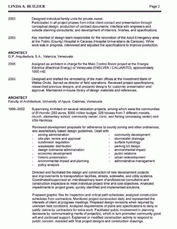 Sustainability Resume Sample Environmental and Sustainability ...