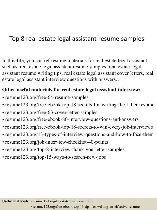 top-8-real-estate-legal-assistant-resume-samples-1-638.jpg?cb=1432910336
