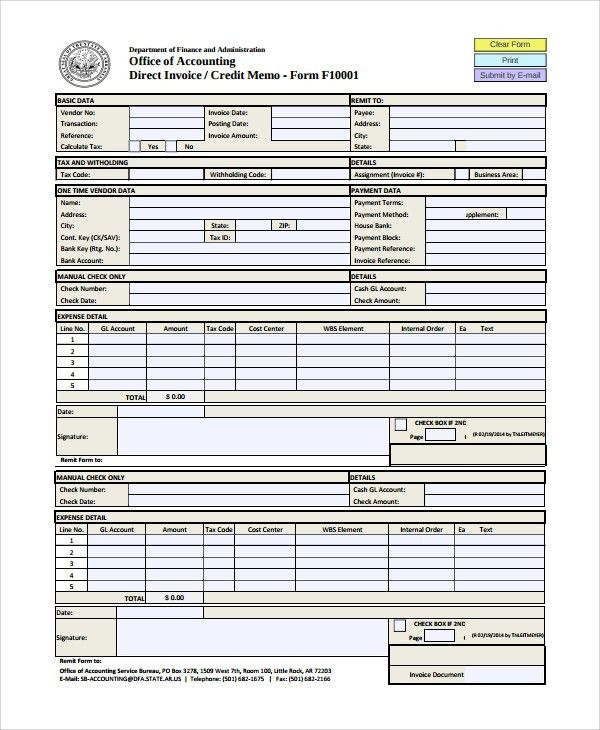 Sample Memo - 20+ Documents in PDF, Word