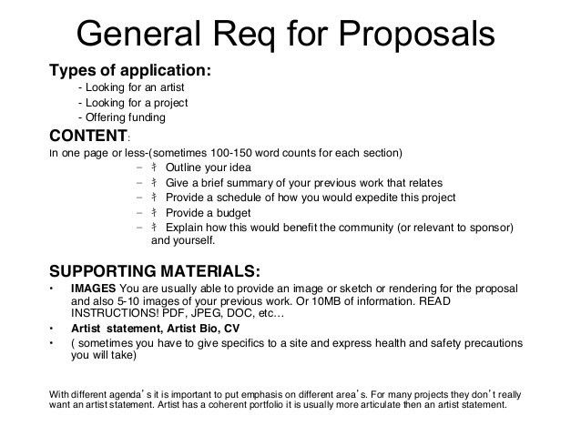 28+ Art Project Proposal Template | How To Write An Art Project ...