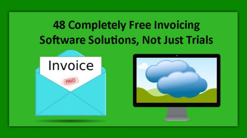 Completely Free Invoicing Software Solutions, Not Just Trials