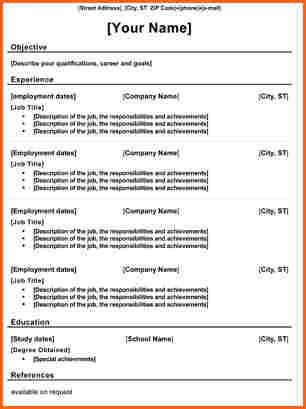 Traditional Resume Examples. Traditional Resume Examples - Uk ...