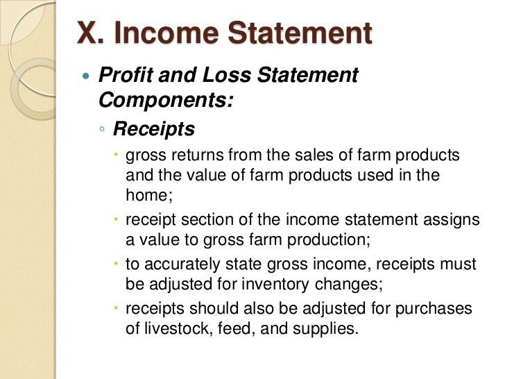 Farm records and accounting