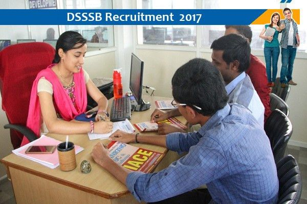 Jobs for Clerk and Others in DSSSB