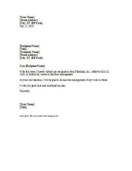 Best 20+ Professional resignation letter ideas on Pinterest   Job ...