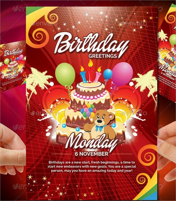 17+ Birthday Templates - Free PSD, AI, EPS Format Download | Free ...
