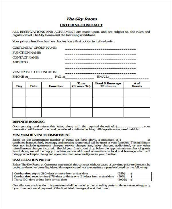 Free printable contracts - cronjob.billybullock.us'