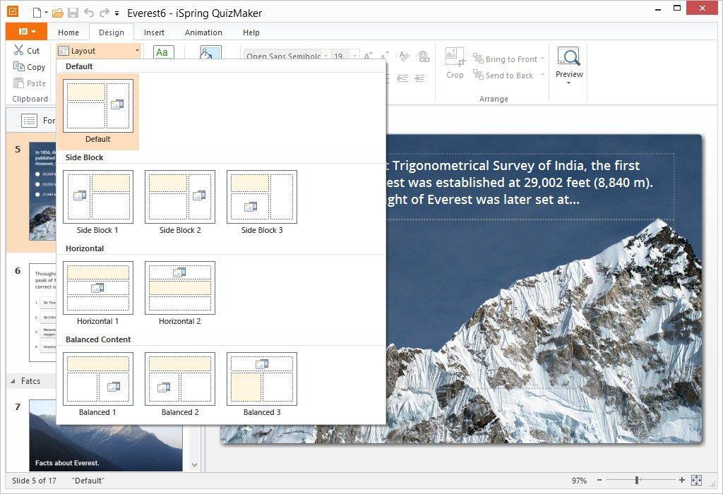 iSpring Quiz Maker 8.7 - Desktop-Based Tool for Online Quizzes