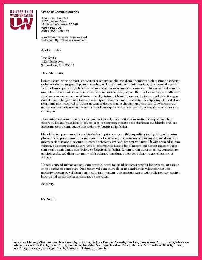 business letterhead format | bio letter format
