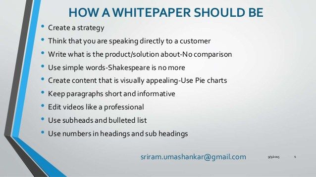 Creating A White Paper That Helps In Lead Capturing