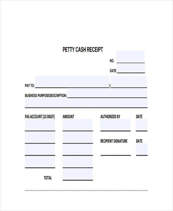 9+ Cash Receipt Templates - Free Sample, Example Format Download ...