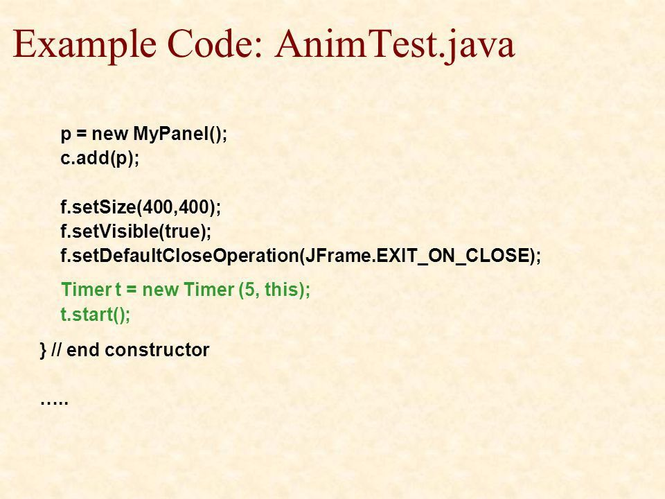 Web Design & Development Lecture 19. Java Graphics ppt download