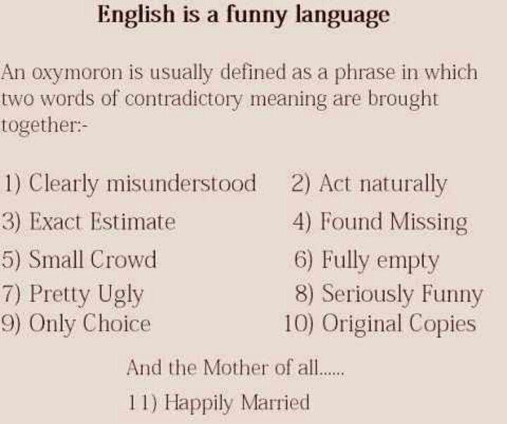 64 best Oxymorons : ) images on Pinterest | Alice in wonderland ...