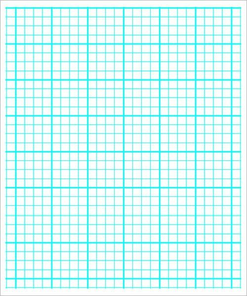 Sample printable graph paper - 6+ Documents in PDF, Word , PSD