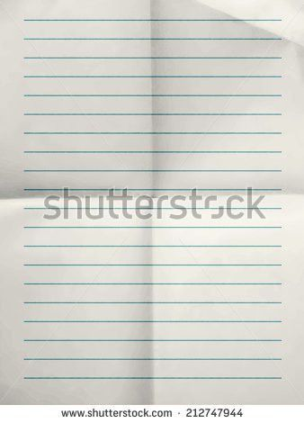 Ruled Paper Background Stock Images, Royalty-Free Images & Vectors ...