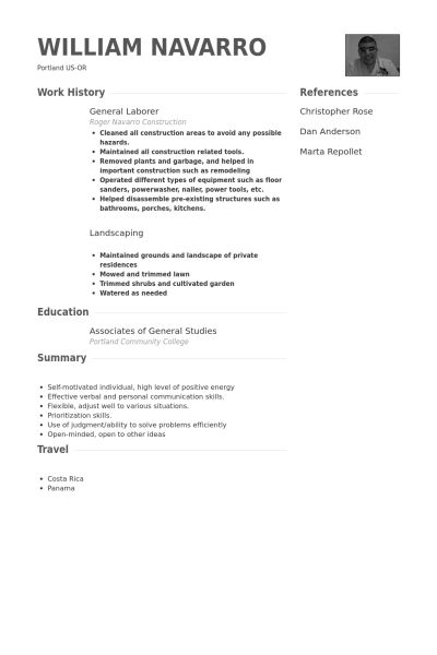 landscape resume samples landscaping resume