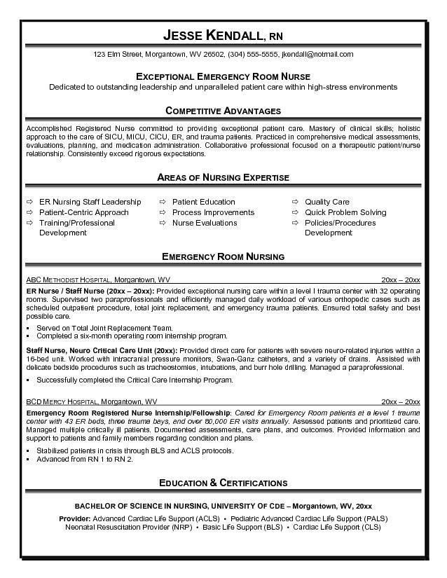 10 best nursing resume templates. pediatric nurse resume sample ...
