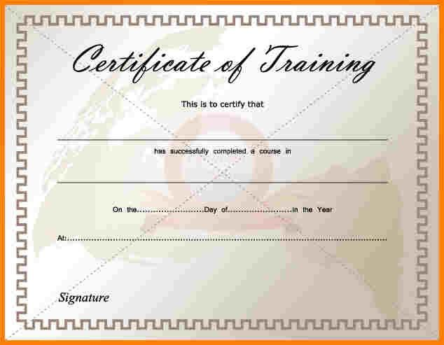 8+ training certificate template free download | sample of invoice