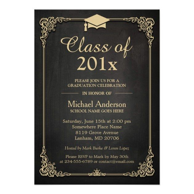 Personalized Law School Graduation Invitations ...