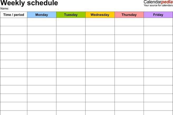 Work Schedule Template. Free Downloadable Work Schedule Template ...