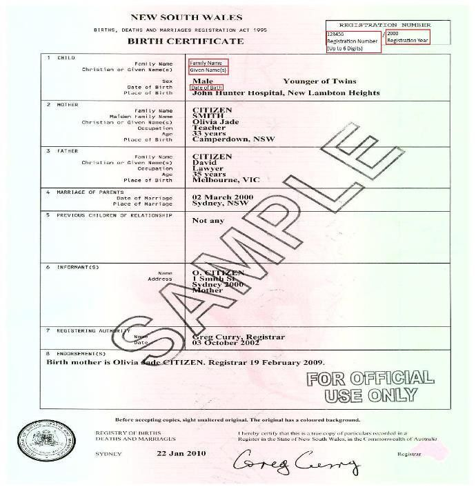 8+ Birth Certificate Templates - Word Excel PDF Formats