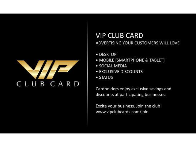 VIP Club Card logo design - 48HoursLogo.com