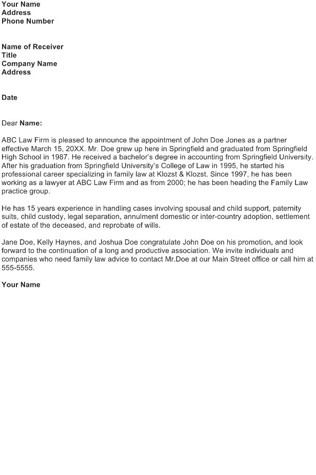 Release Letter Template - Download FREE Business Letter Templates ...