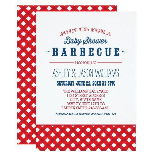 Baby Shower Bbq Invitations | christmanista.com