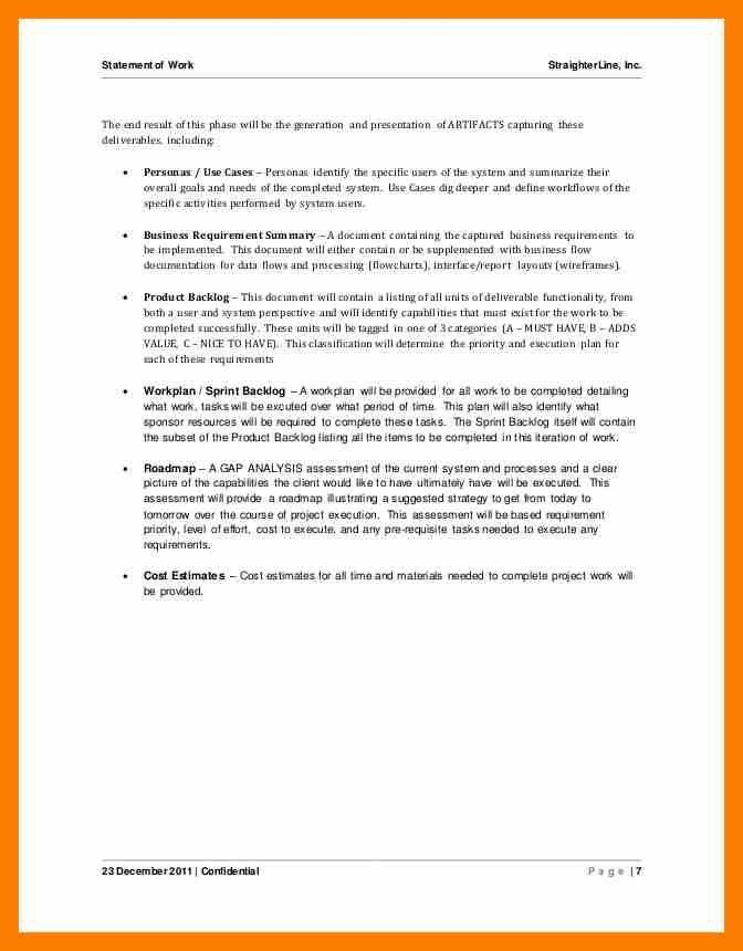 12+ example statement of work | janitor resume